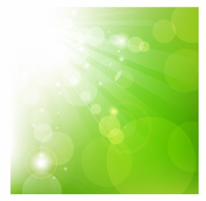 Abstract_green_blurry_background
